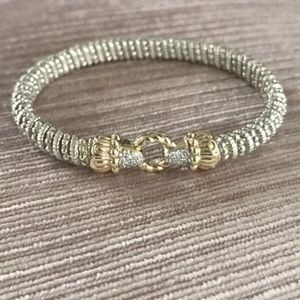 Alwand Vahan diamond and Gold bracelet